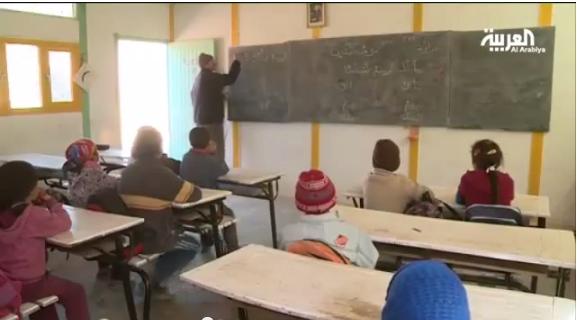 معاناة معلم مغربي بقرية إنمل بالأطلس