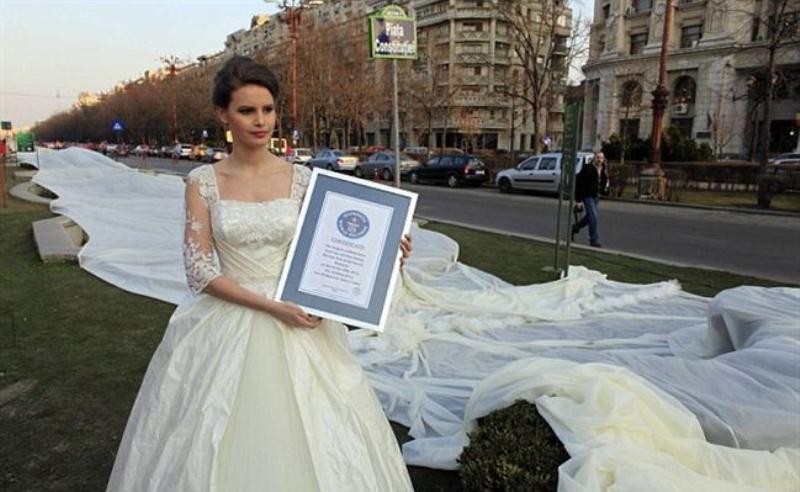 دبي تستعد لاطلاق أطول فستان زفاف