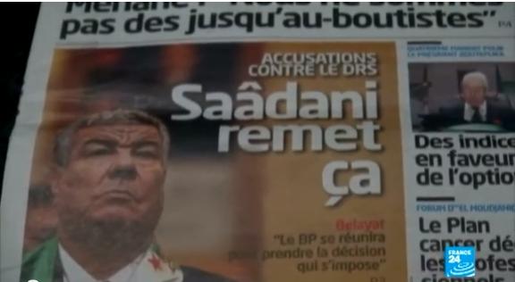 الجزائر: تصريحات سعداني تخلق حالة طوارئ