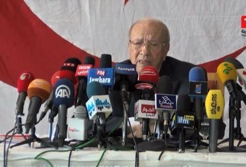 حركة نداء تونس: السبسي يؤكد تهديده بالقتل