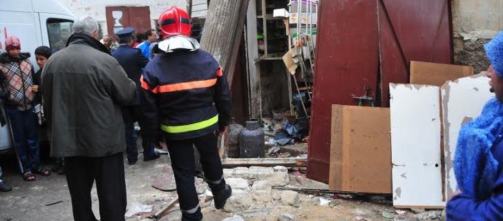 انفجار قنينة غاز باحد المحلات التجارية بالدار البيضاء يعيد إشكالية غياب الصيانة إلى الواجهة