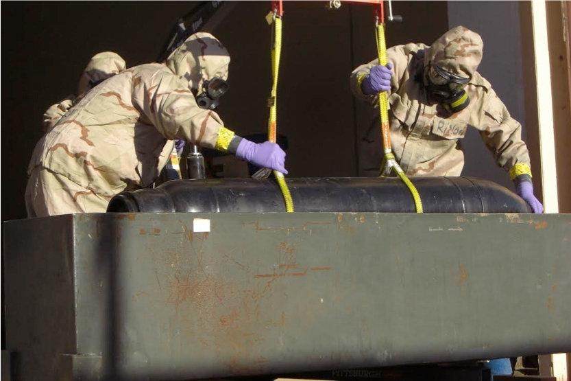 مواقع غربية: الولايات المتحدة وليبيا دمرتا آخر ما تبقى من أسلحة القذافي الكيماوية
