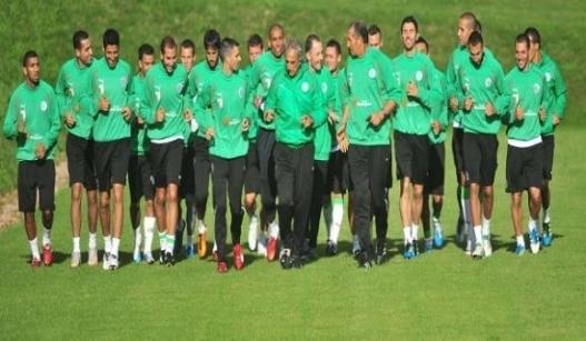 حليلوزيتش يستدعي 27 محترفا للمباراة الودية أمام منتخب سلوفينيا