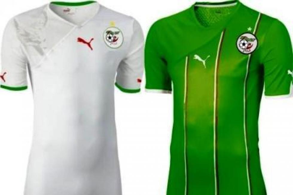 المنتخب الجزائري يدشن قميص المونديال في مباراة سلوفينيا الودية