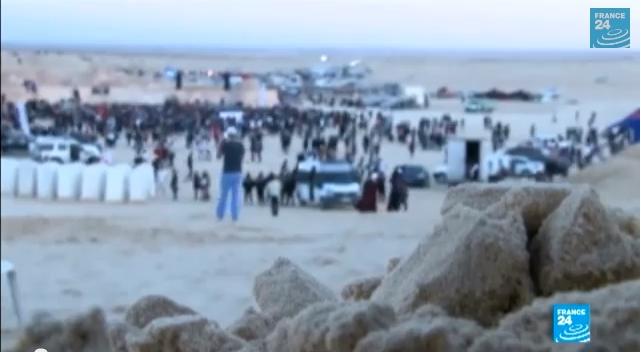 تونس: مهرجان الكثبان الإليكترونية في الصحراء