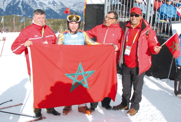 الألعاب الشتوية الاولمبية تنطلق بروسيا وآمال المغاربة على البطل المحمدي