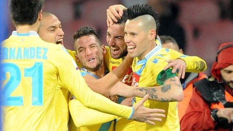 نابولي ويوفنتوس في دوري الثمن لمسابقة الدوري الأوربي