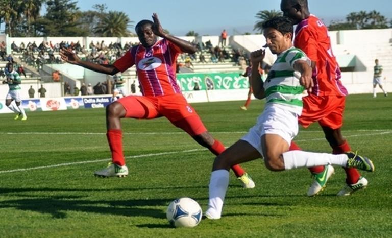 شباب قسطنطينة الجزائري والدفاع  المغربي في الدور الثاني لكأس الكاف