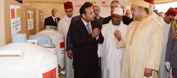 العاهل المغربي والرئيس المالي يشرفان على تدشين بعض المشاريع في باماكو