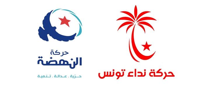 مصادر إعلامية تتحدث عن التحالف الموضوعي بين نداء تونس وحركة النهضة