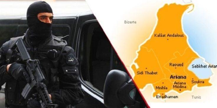 مقتل 6 مسلحين وعون حرس في تبادل إطلاق نار برواد التونسية