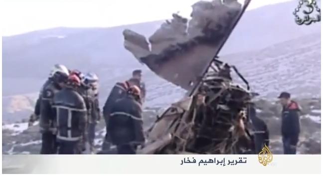 تحطم الطائرة العسكرية الجزائرية