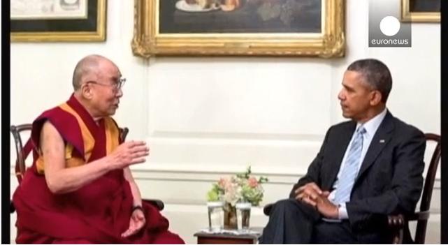 الصين غاضبة من لقاء أوباما والدلاي لاما