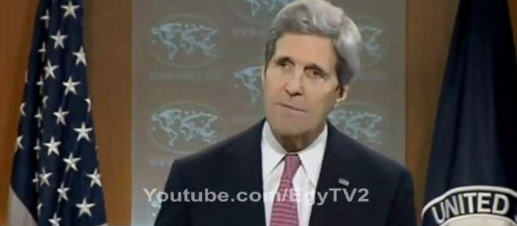 كيري: واشنطن ستواصل دعم المتظاهرين في مصر وأوكرانيا