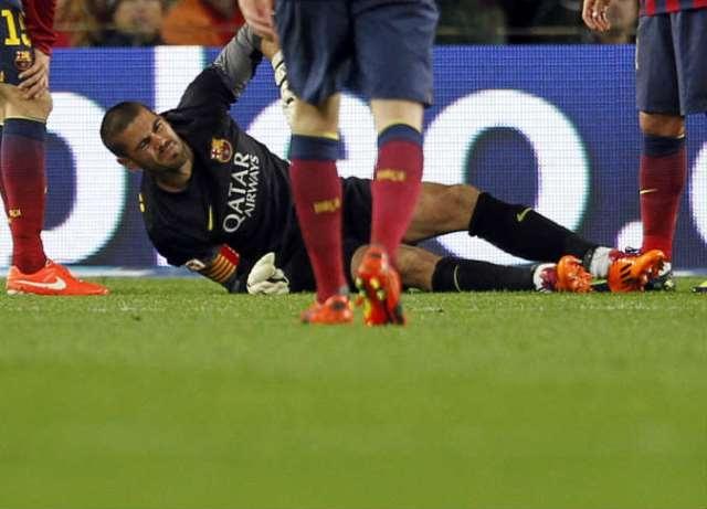 مشوار فالديز ينتهي  مع برشلونة  بسبب الإصابة