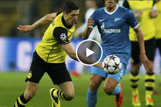 فيديو : دورتموند -زينيت :2-1