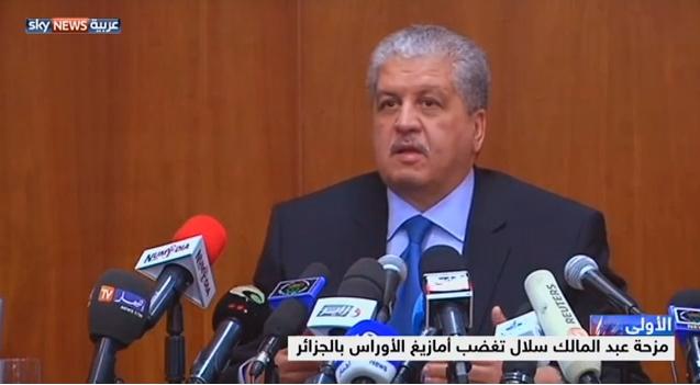زلات لسان سلال تثير غضبا واسعا في الجزائر