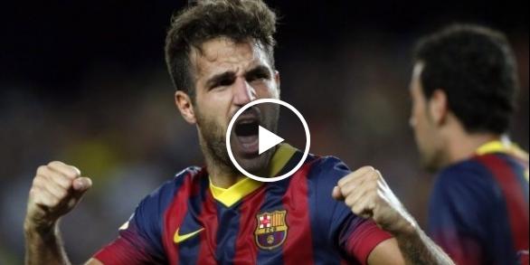 فيديو: أهداف مباراة برشلونة ومانشستر سيتي 2-1