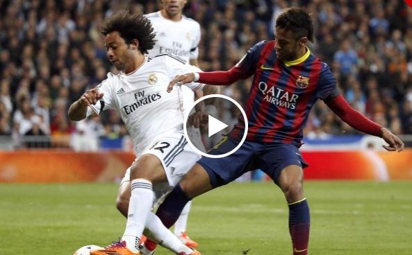 فيديو : ريال مدريد 3 - 4 برشلونة