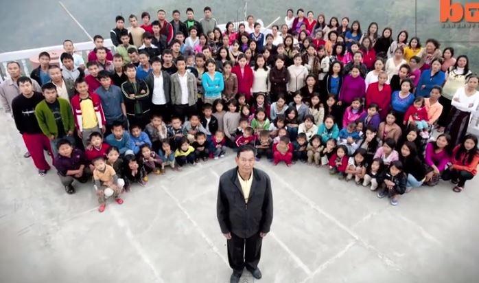 أكبر عائلة في العالم تضم 181 فرد