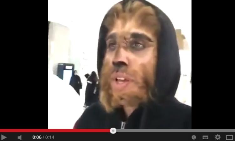 الرجل الذئب يثير الذعر في الكويت