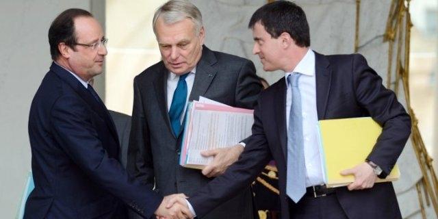 استقالة الحكومة الفرنسية وأنباء عن تعيين فالس رئيسا للوزراء