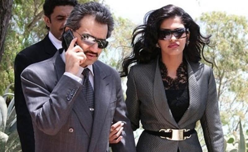 الملياردير السعودي الوليد بن طلال ينفصل عن زوجته الرابعة