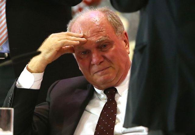 رئيس البايرن ميونخ يقبل بالحكم الصادر ضده بالسجن ويستقيل من رئاسة الفريق !