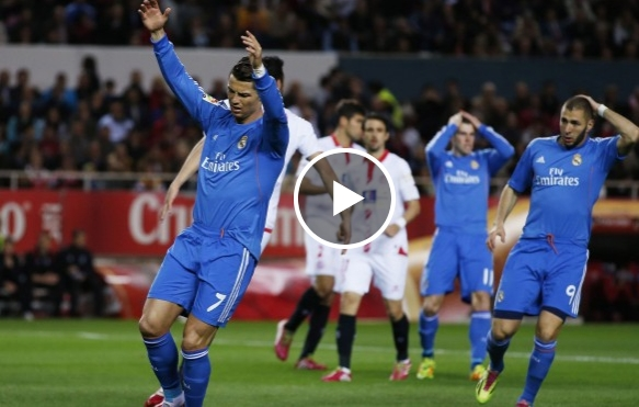 اشبيلية 2-1 ريال مدريد