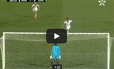 المغرب-الغابون 1-1