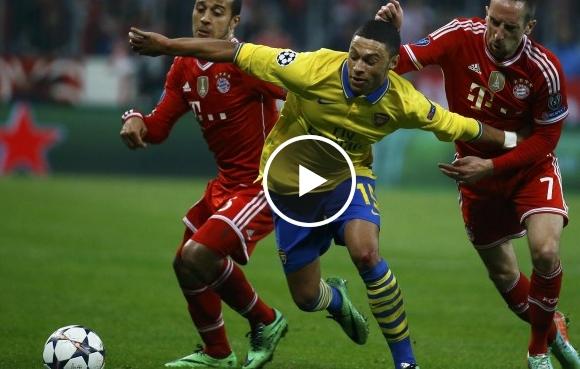 فيديو : ميونخ وآرسنال 1-1