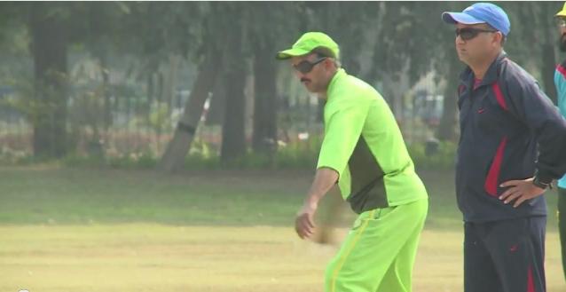 باكستان: المكفوفون بارعون في رياضة الكريكيت