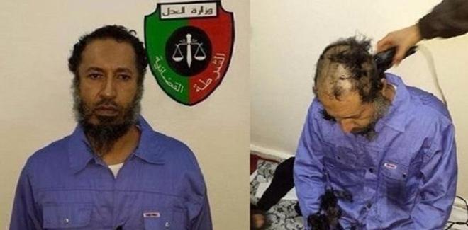 وأخيرا..الساعدي القذافي في قبضة الحكومة الليبية