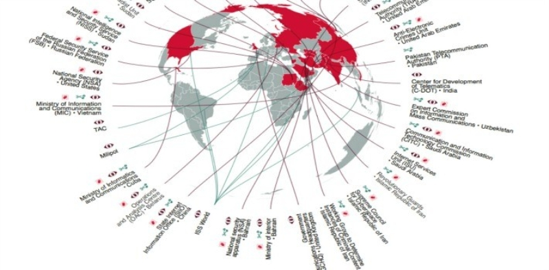 تقرير: أغلب المؤسسات الحكومية متورطة في أنشطة القمع والرقابة الإلكترونية