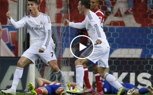 فيديو أهداف الريال واتليتيكو مدريد 2-2