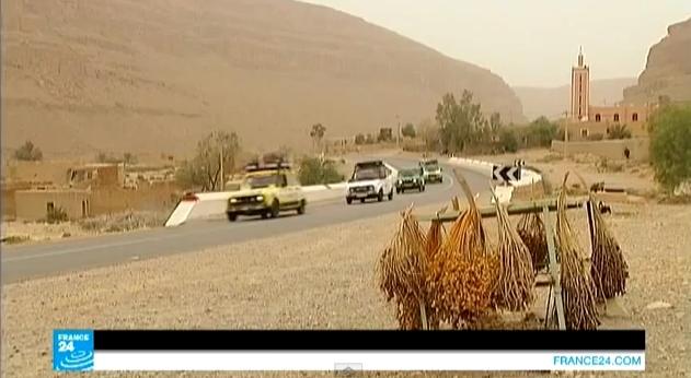 طواف الجنوب المغربي على متن سيارة رونو
