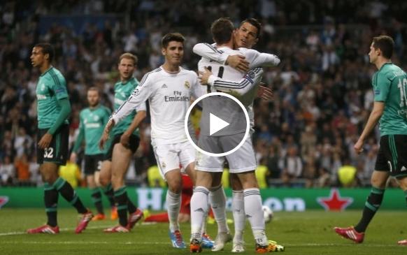 فيديو : الريال -شالكه 3-1