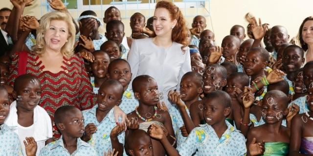الأميرة للا سلمى تزور مركز الأطفال في وضعية صعبة بأبيدجان