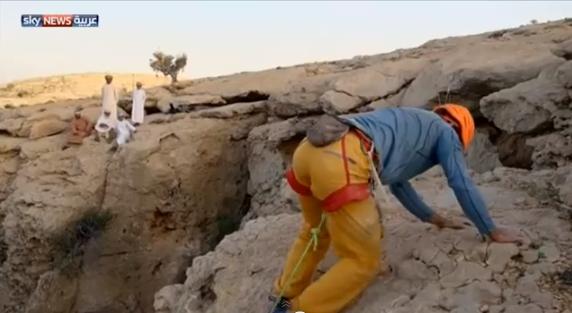 مغامرة داخل كهف مجلس الجن في عمان