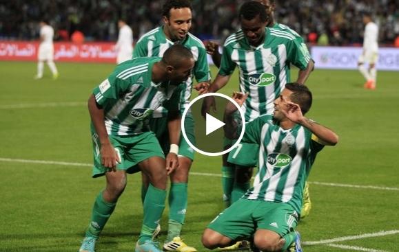 فيديو : فوز الرجاء على وداد فاس4 أهداف لصفر