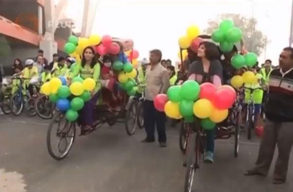 هكذا احتفلت الهند بعيد الألوان
