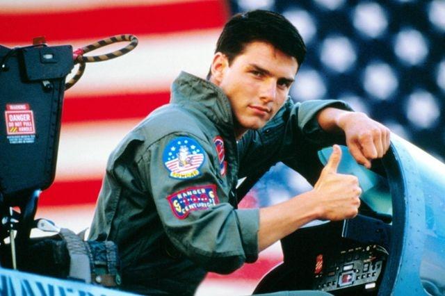 توم كروز يفكر في إنتاج جزء ثان من فيلم Top Gun