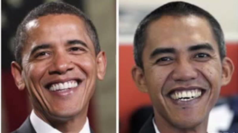 شاهد شبيه أوباما