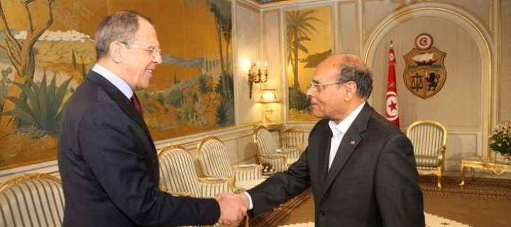 خلال زيارته لتونس وزير الخارجية الروسي يؤكد دعم بلاده لتونس