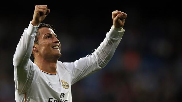 رونالدو يحرز  41 هدفا للريال ويقوده  للتربع على عرش الكرة الأوروبية