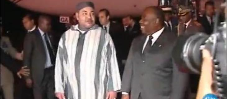 محمد السادس يحل بالغابون