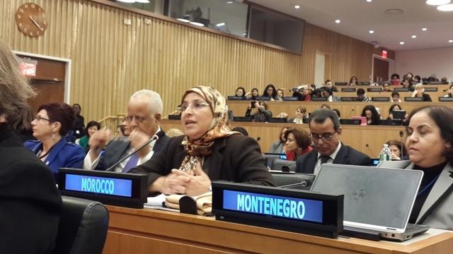 الحقاوي تناقش وضعية المرأة تحت قبة الأمم المتحدة