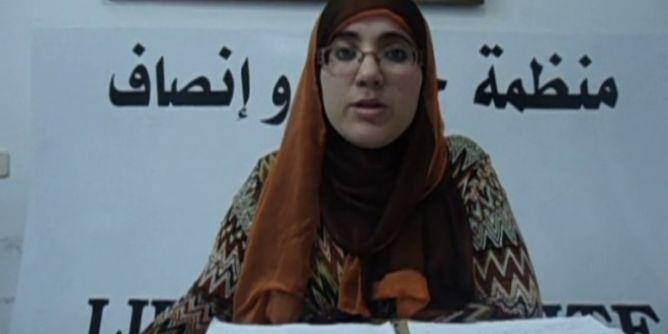 رئيسة منظمة حرية وإنصاف تتعرض لمحاولة اعتداء