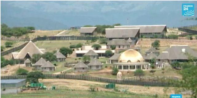 ها هو البيت الذي كلف جنوب افريقيا 15 مليون يورو