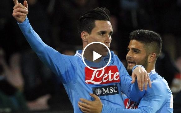 فوز نابولي على روما  1-0